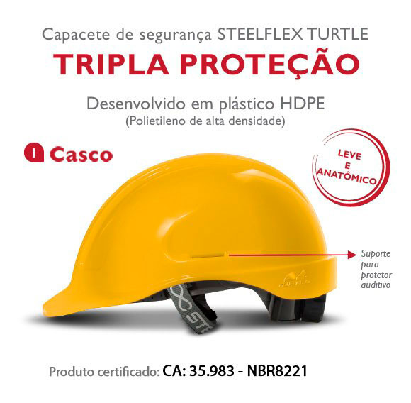 6a27355908396 Capacete de proteção - Lima Seg